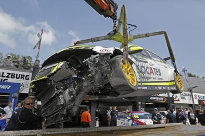 Salzburgring WTCC: Hugo Valente sidelined by big practice crash