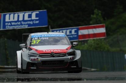 Salzburgring WTCC: Jose Maria Lopez tops test for Citroen