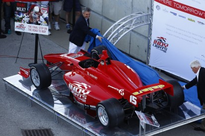 Indy Lights unveils new car for 2015 at Indianapolis