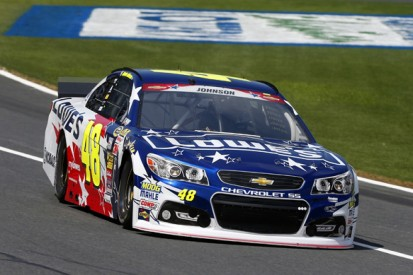 Charlotte NASCAR: Jimmie Johnson claims his first 2014 pole
