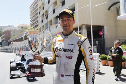 Monaco GP2: Jolyon Palmer wins chaotic first race