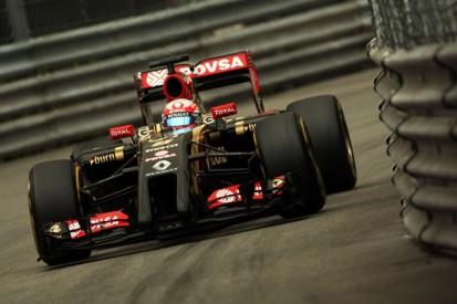 Monaco GP: Lotus struggling for tyre temperature