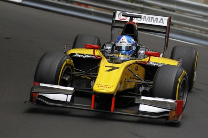 Monaco GP2: Jolyon Palmer sets the pace in free practice for DAMS