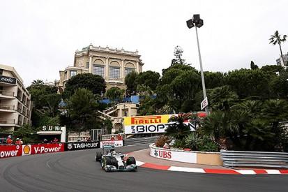 Monaco GP: Lewis Hamilton leads Mercedes 1-2 in FP1