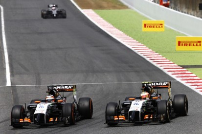 Force India discovered floor problem on Nico Hulkenberg's car