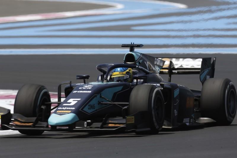 Formel 2 in Le Castellet: Sette Camara auf Pole, Schumacher in Reihe vier