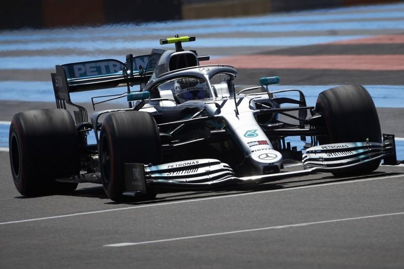 Formel-1-Training Frankreich: Halbe Sekunde Vorsprung für Mercedes