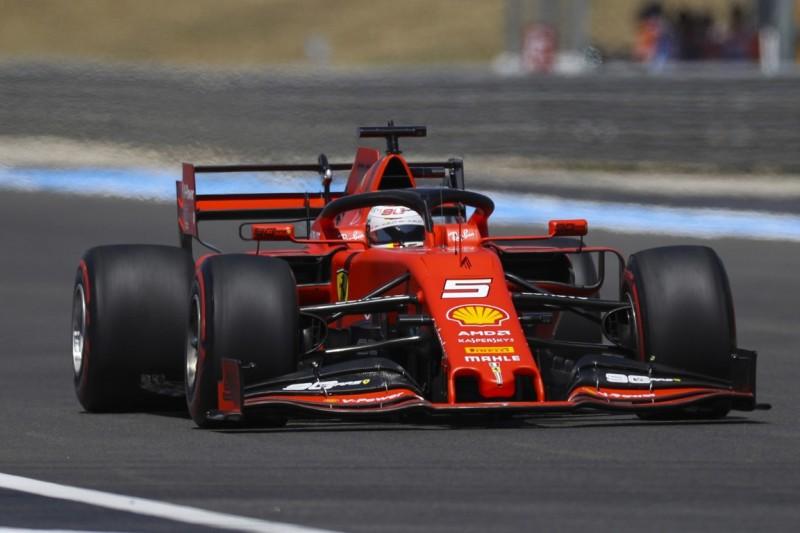 Startplatz sieben in Frankreich: Wie Vettel sein Qualifying kommentiert