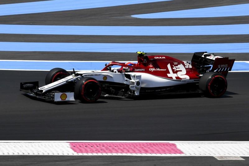 Trotz Q3-Einzug: Giovinazzi gegenüber Räikkönen wohl im Nachteil