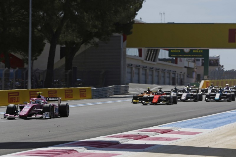 Formel-2-Sprint in Le Castellet: Heimsieg für Anthoine Hubert