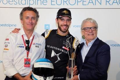 Vergne gewinnt Trophäe für die voestalpine European Races 2018/19