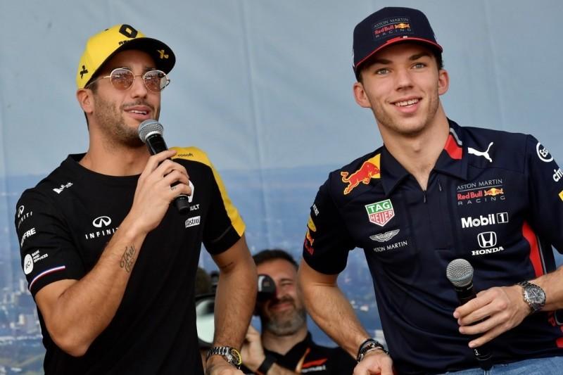 Ricciardo: Hatte es bei Red Bull leichter als Gasly