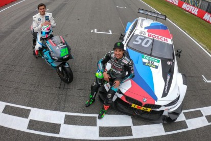 "MotoGP-Pilot Franco Morbidelli im DTM-Auto: ""Abtrieb ist beeindruckend"""