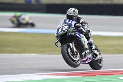 MotoGP Assen FT2: Bestzeit für Vinales, Rossi schafft Sprung in Top 10