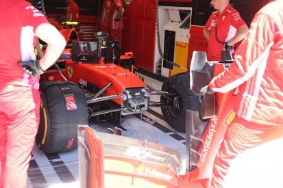 Formel-1-Technik 2019: Wie Ferrari das Abtriebs-Defizit angeht
