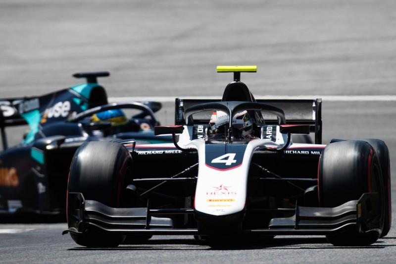 Formel 2 in Spielberg: Pole-Position für de Vries, Schumacher in Top 10