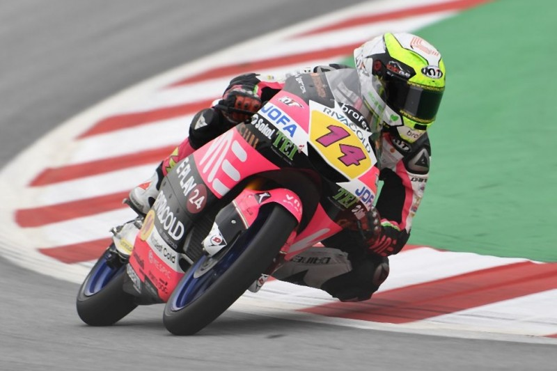 Moto3 FT3 in Assen: Späte Bestzeit von Tony Arbolino
