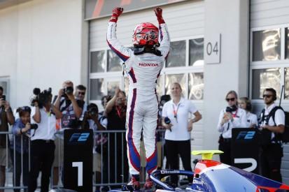 Formel 2 in Spielberg: Früher Schumacher-Schreck bei Matsushita-Sieg