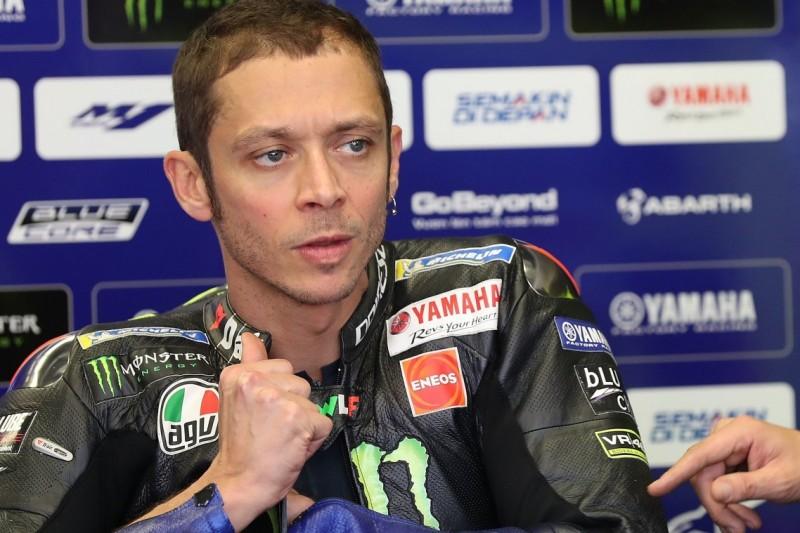 """""""Mein Fehler"""": Rossi entschuldigt sich für Crash mit Nakagami in Assen"""