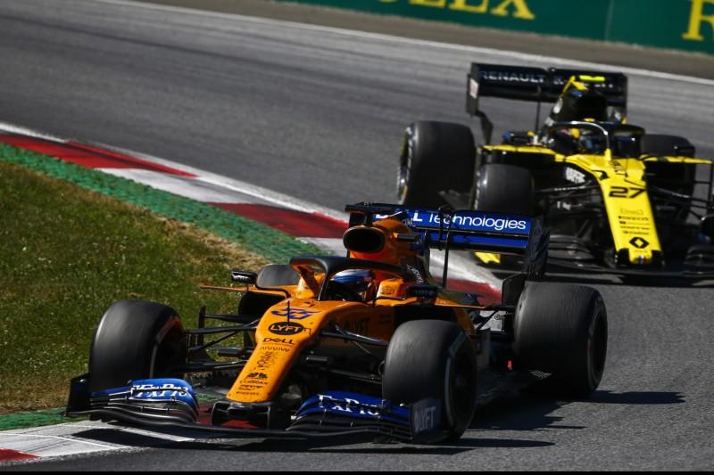 McLaren: Warum sich Sainz vor dem Rennen entschuldigte