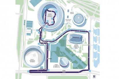 Formel E im Olympiastadion: Layout der Strecke in Seoul vorgestellt