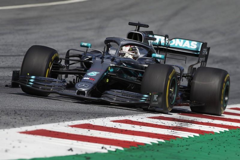 Lewis Hamilton: Flügelschaden hat halbe Sekunde pro Runde gekostet