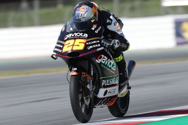Moto3 FT1 am Sachsenring: Raul Fernandez beginnt mit Bestzeit