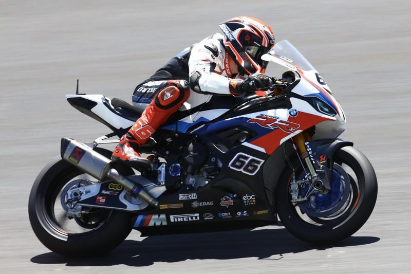 WSBK Donington FT1: BMW-Bestzeit, keine Ducati in den Top 10