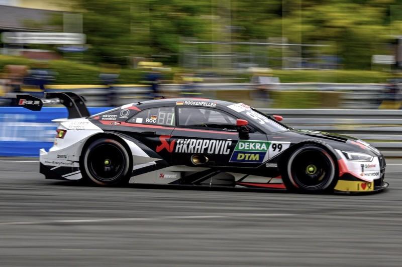 DTM-Training Norisring: Audi vorne, Tagesbestzeit für Rockenfeller