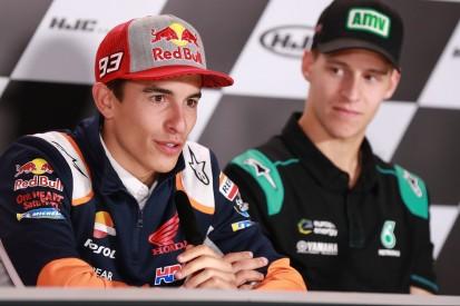 """Marquez lobt Quartararo: """"Er zeigt das Potenzial der Yamaha"""""""