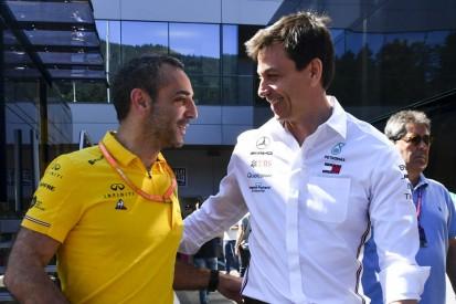 Renault fürchtet: Mercedes und Ferrari auch nach Regeländerung vorn