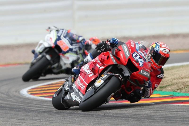 DNA der Ducati: Turning das erwartete Problem auf dem Sachsenring