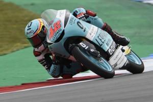 Moto3 FT3 am Sachsenring: Ramirez unter dem Rundenrekord
