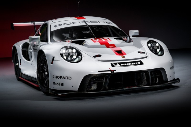 Weltpremiere in Goodwood: Porsche stellt den neuen 911 RSR vor