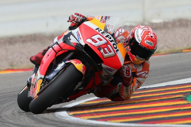 MotoGP-Qualifying Sachsenring: Pole-Serie von Marc Marquez hält