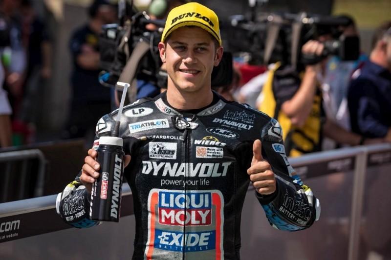 Moto2 am Sachsenring: Schrötter bei Marquez-Sieg auf dem Podest