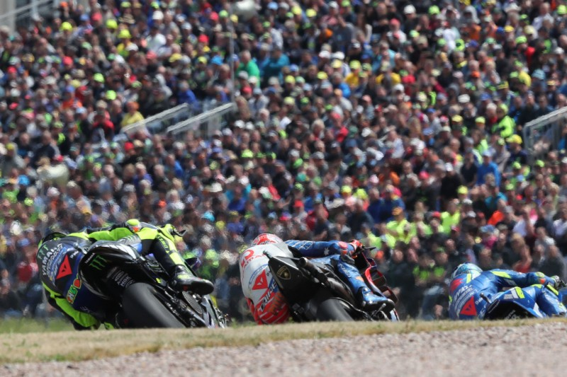 P8 mit großem Rückstand: Rossi tritt auf Sachsenring kaum in Erscheinung