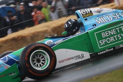 Damon Hill im Auto des Rivalen: Goodwood feiert Michael Schumacher