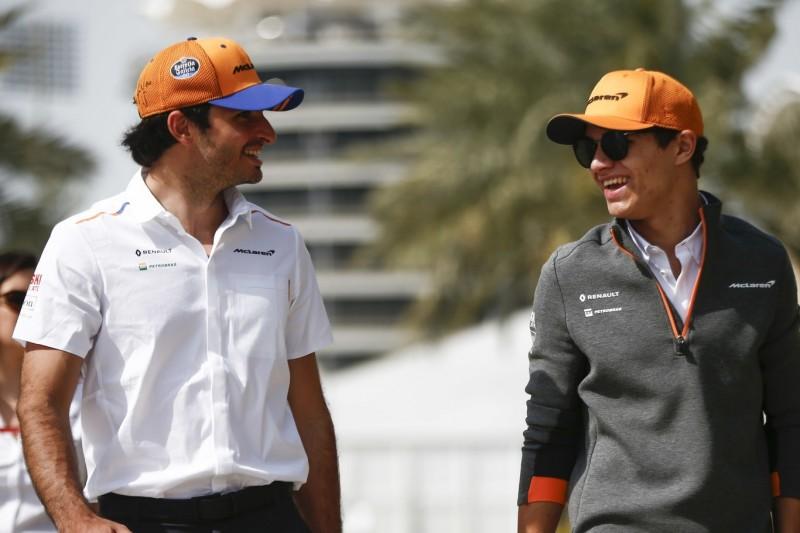 Bestätigt: McLaren auch 2020 mit Carlos Sainz und Lando Norris