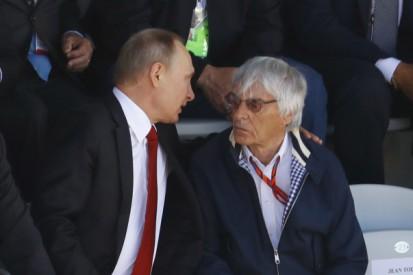 Sterben für Putin, gegen Demokratie: Ecclestone regt wieder auf