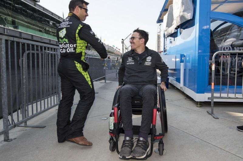 Robert Wickens fährt beim IndyCar-Rennen in Toronto Demorunden