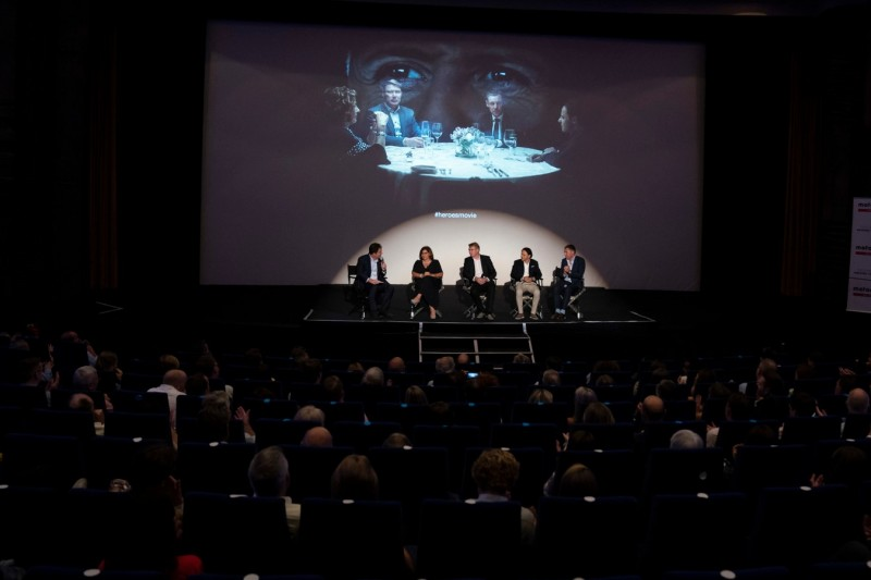 Heroes-Premiere in London mit Häkkinen, Massa und Co.