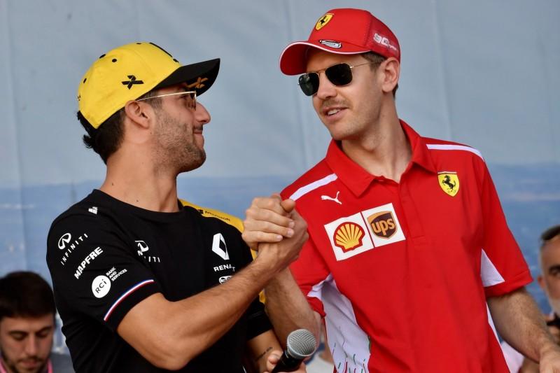 Ferrari rüstet sich für Vettel-Abgang: Ricciardo erneut im Fokus