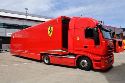 Flüchtlinge nutzen Ferrari-Transporter zur Einreise nach England