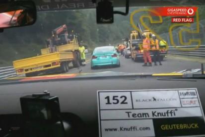 Unfall mit vier Fahrzeugen im Zeittraining: VLN4 wird verkürzt