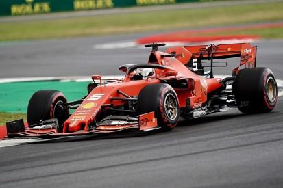 Reifen, Unterboden und Co.: Ferraris Baustellen in Silverstone