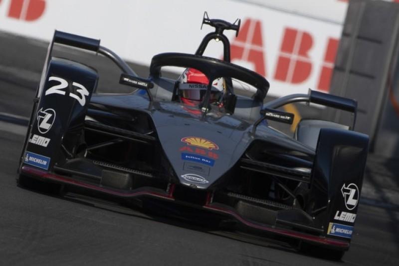 Formel E New York 2019: Sebastien Buemi vor Pascal Wehrlein auf Pole