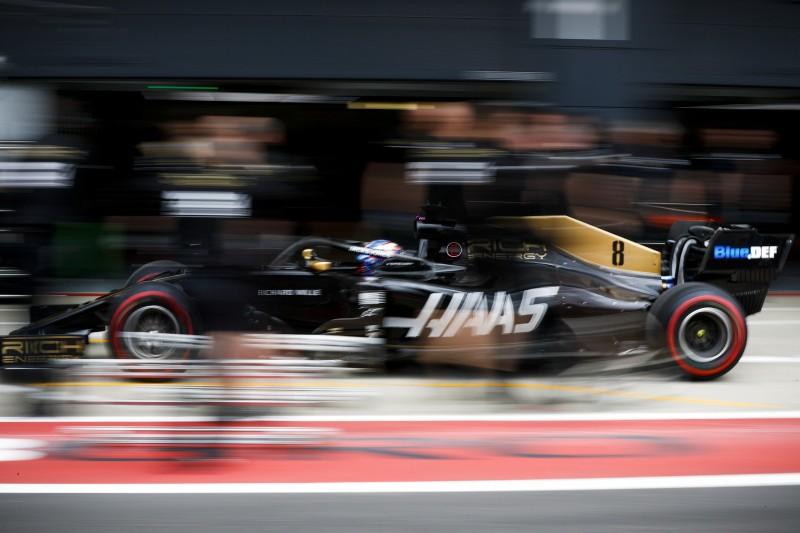 Haas-Experiment: Grosjean mit altem Aero-Paket schneller als Magnussen