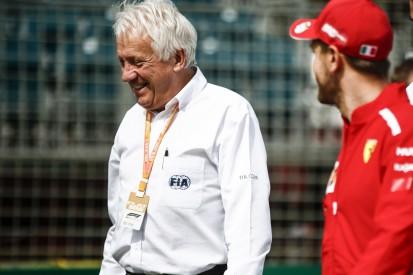 """Abschied von """"Racer"""" & """"Freund"""" Charlie Whiting: Vettel hält berührende Rede"""