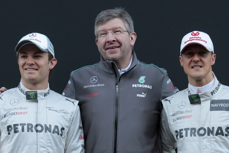 Nico Rosberg: Mercedes und Schumacher legten seine Strategie fest
